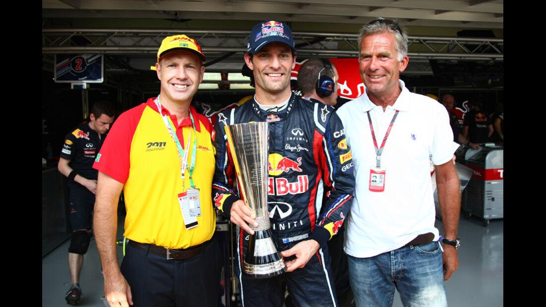 Mark Webber - GP Brasilien - 25. November 2011