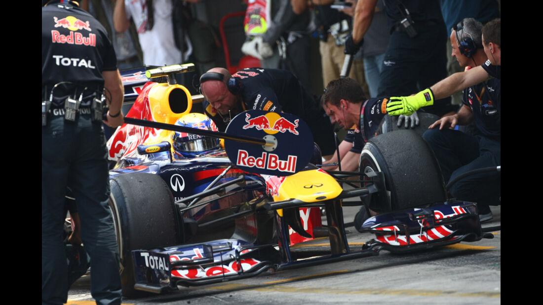 Mark Webber - GP Brasilien - 26. November 2011