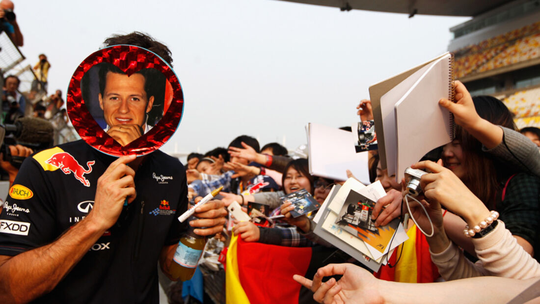 Mark Webber GP China 2011