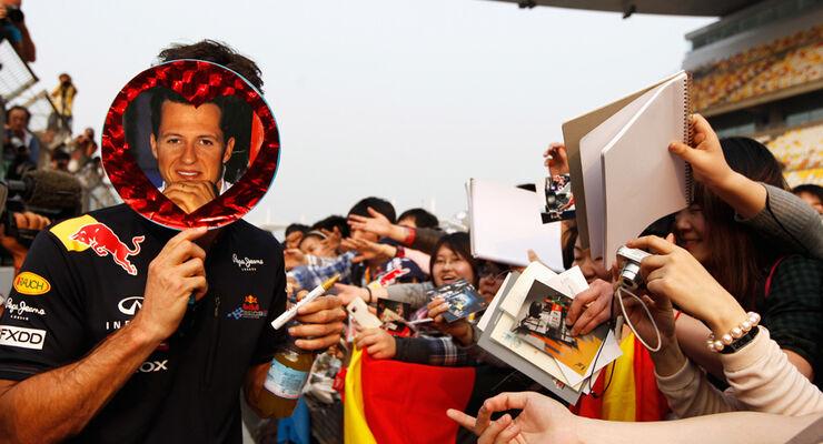 Mark Webber GP China 2011