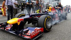 Mark Webber GP China 2012