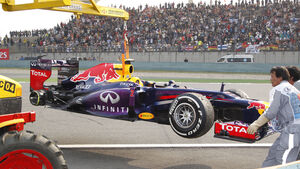 Mark Webber GP China 2013