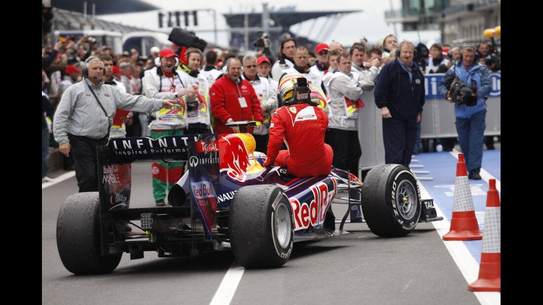 Mark Webber GP Deutschland 2011 Noten