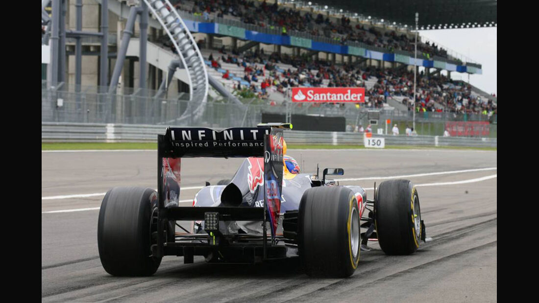 Mark Webber - GP Deutschland - Nürburgring - 22. Juli 2011
