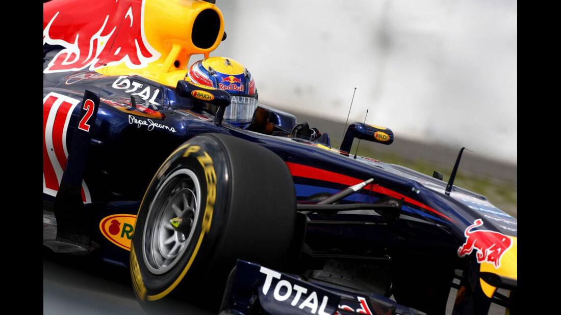 Mark Webber - GP Deutschland - Nürburgring - 23. Juli 2011