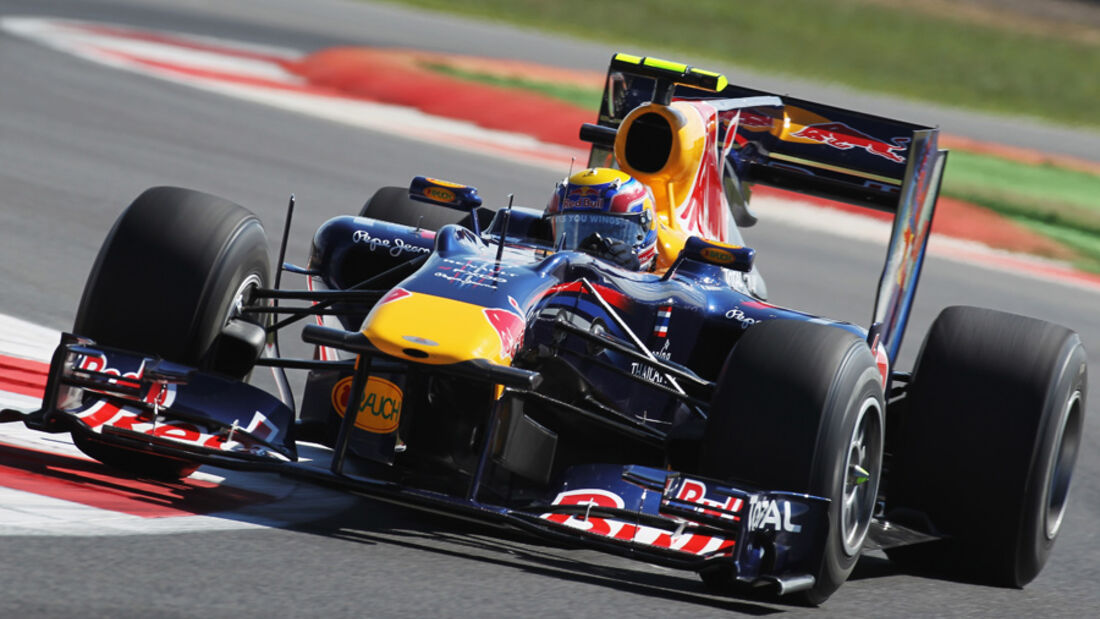Mark Webber - GP England 2010