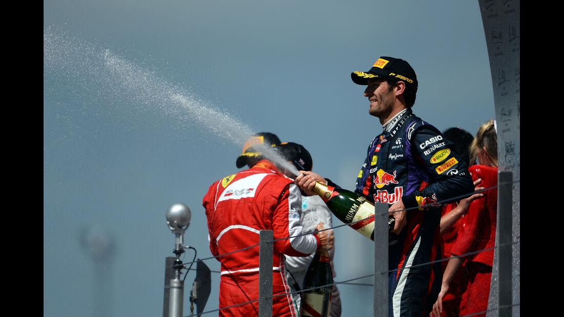 Mark Webber - GP England 2013