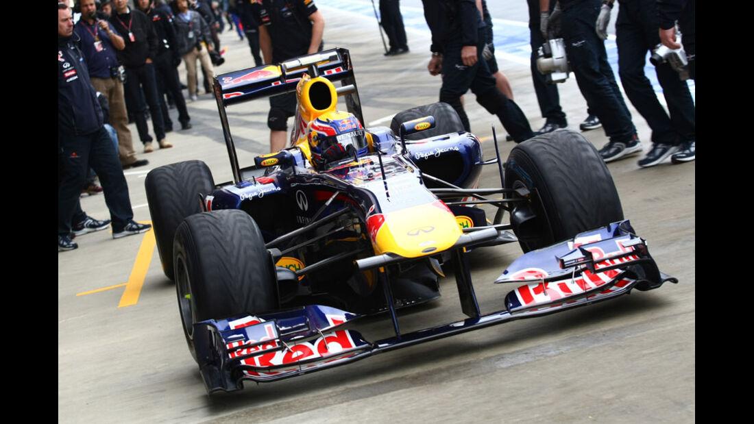 Mark Webber - GP England - Qualifying - 9. Juli 2011