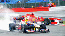 Mark Webber - GP England - Training - Silverstone - 8. Juli 2011