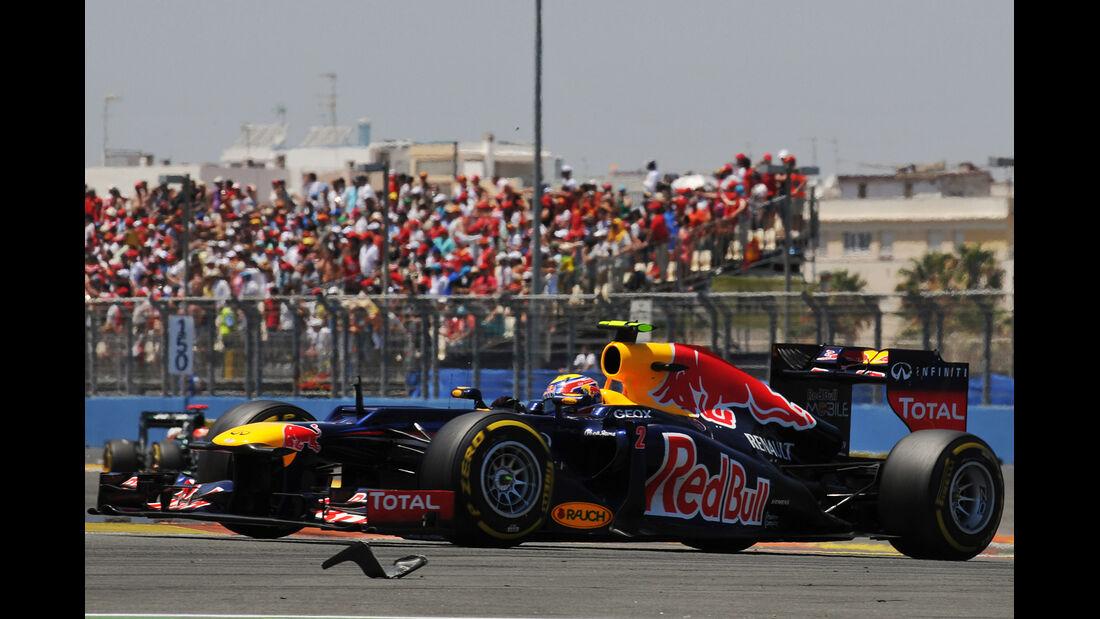 Mark Webber GP Europa 2012