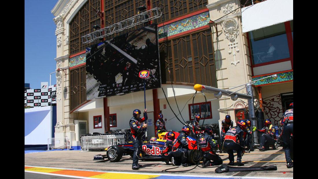 Mark Webber GP Europa Valencia 2011