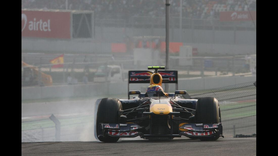 Mark Webber GP Indien 2011