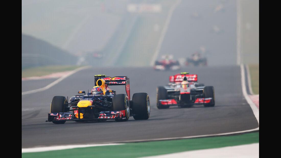 Mark Webber GP Indien 2012