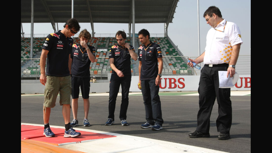 Mark Webber - GP Indien - 27.10.2011