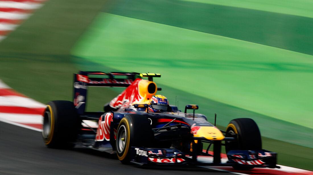 Mark Webber - GP Indien - Training - 28.10.2011