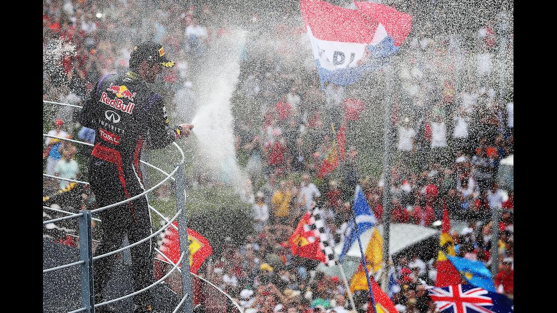 Mark Webber - GP Italien 2013