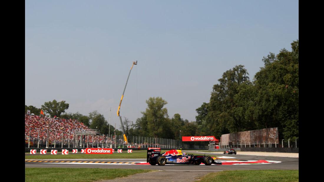 Mark Webber - GP Italien - Monza - 10. September 2011