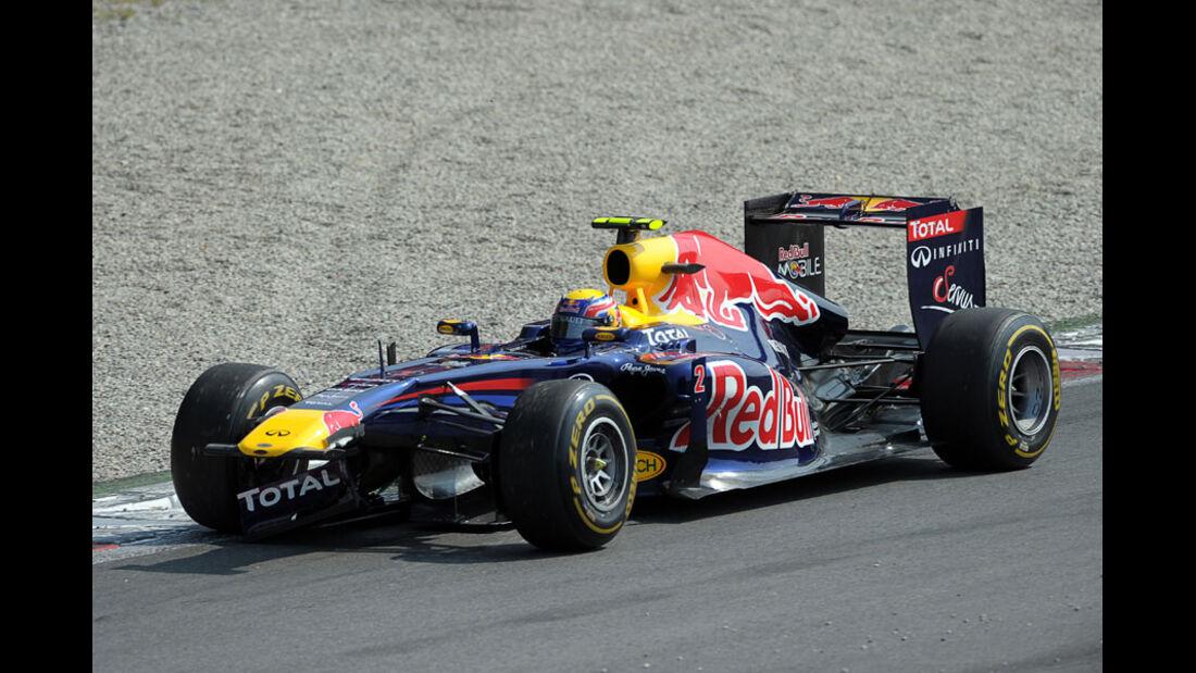 Mark Webber GP Italien Monza 2011