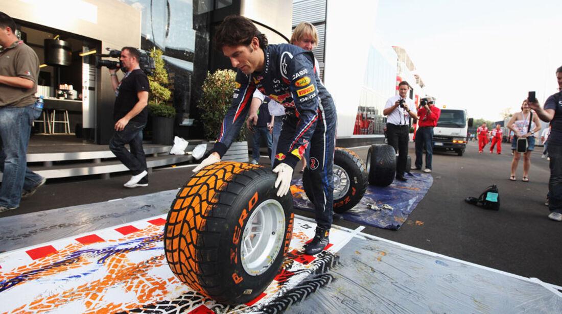 Mark Webber - GP Italien - Monza - 8. September 2011