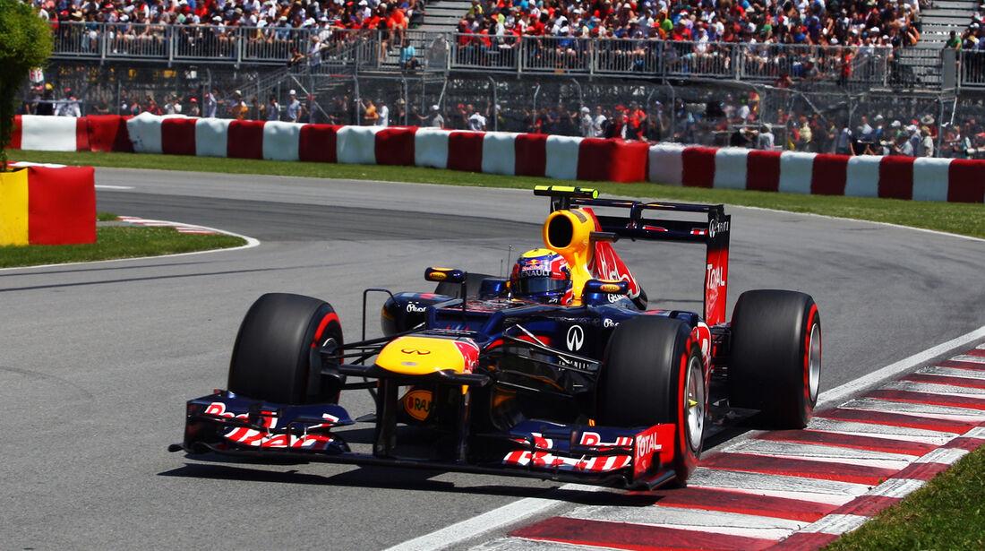 Mark Webber GP Kanada 2012