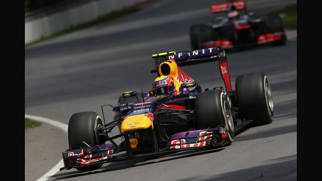 Mark Webber - GP Kanada 2013