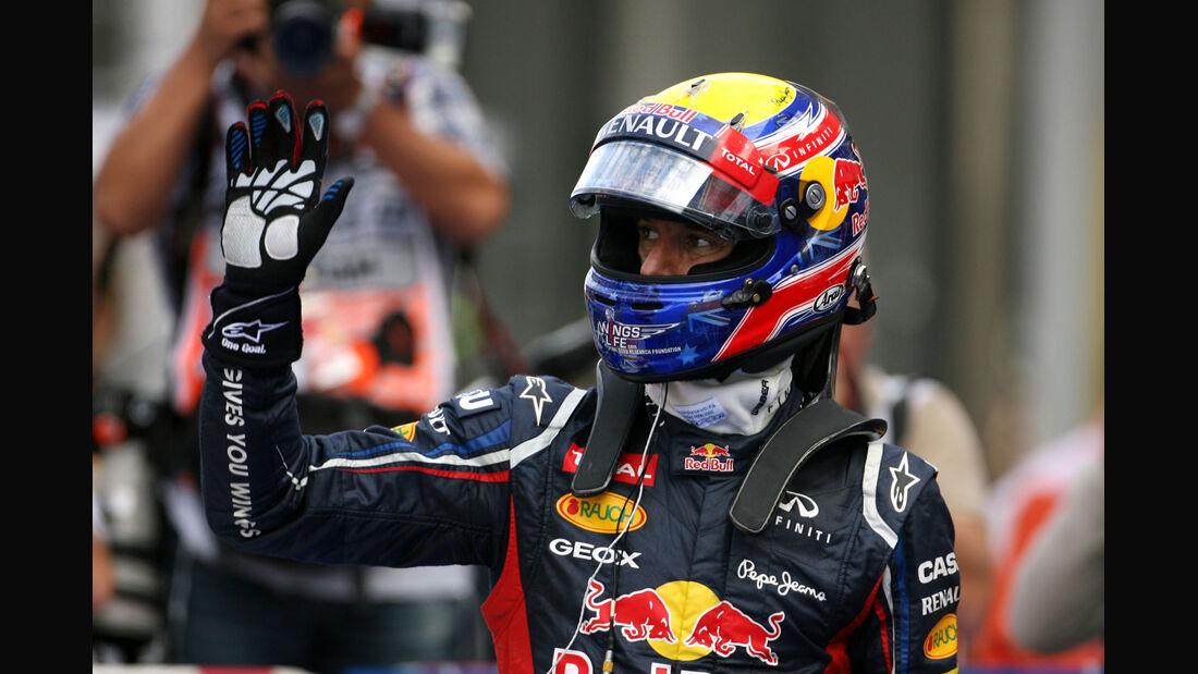Mark Webber GP Korea 2012