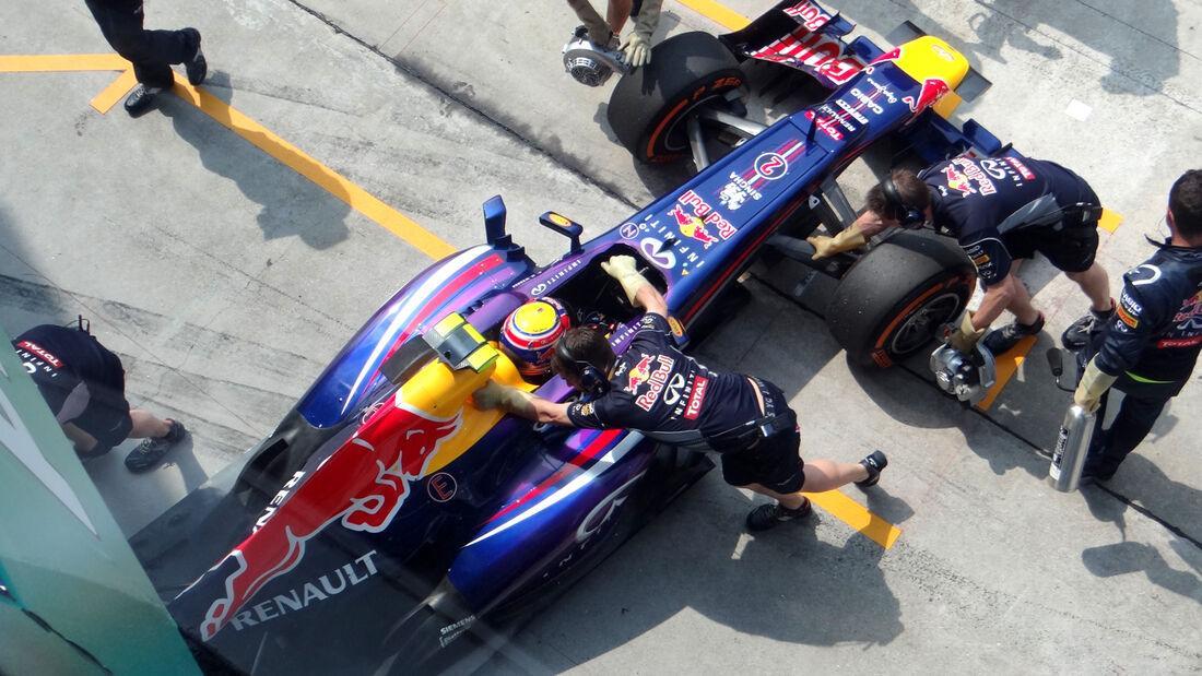 Mark Webber GP Malaysia 2013