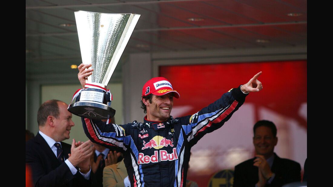 Mark Webber - GP Monaco 2010