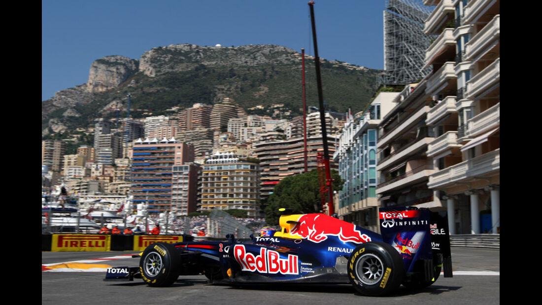 Mark Webber GP Monaco 2011