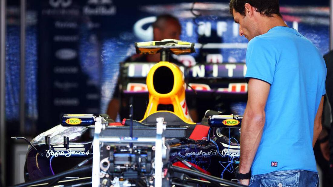 Mark Webber GP Monaco 2013