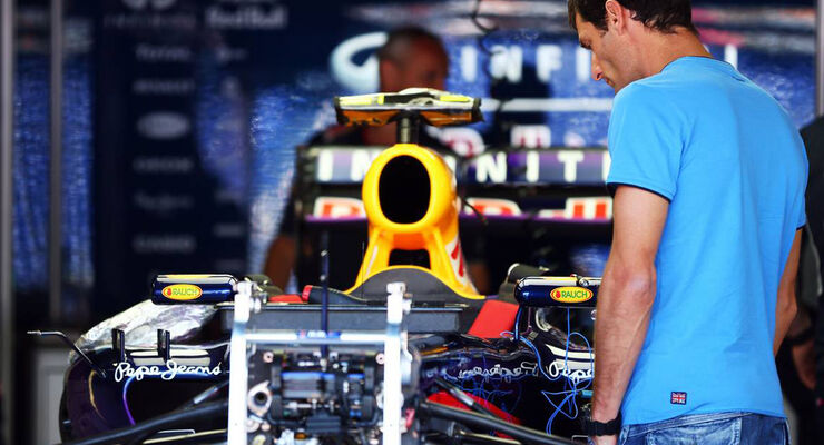 Mark Webber GP Monaco 2013