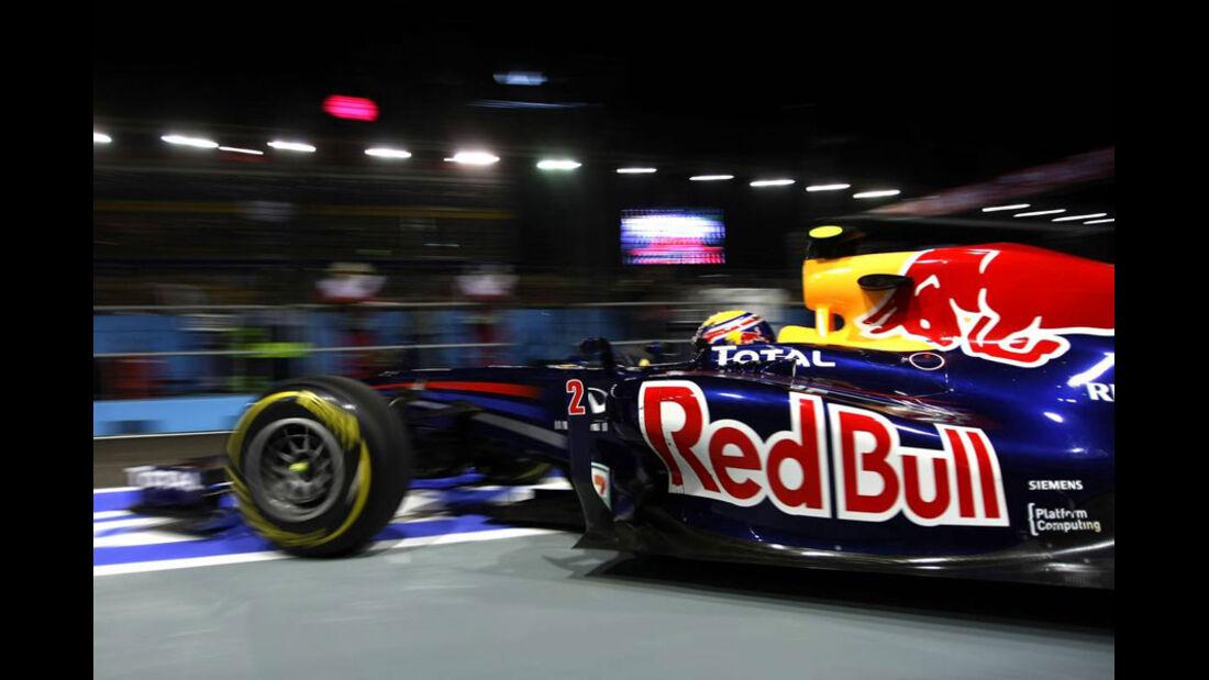Mark Webber - GP Singapur - 23. September 2011
