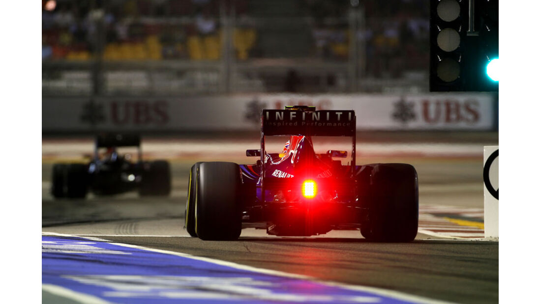 Mark Webber - GP Singapur - 24. September 2011