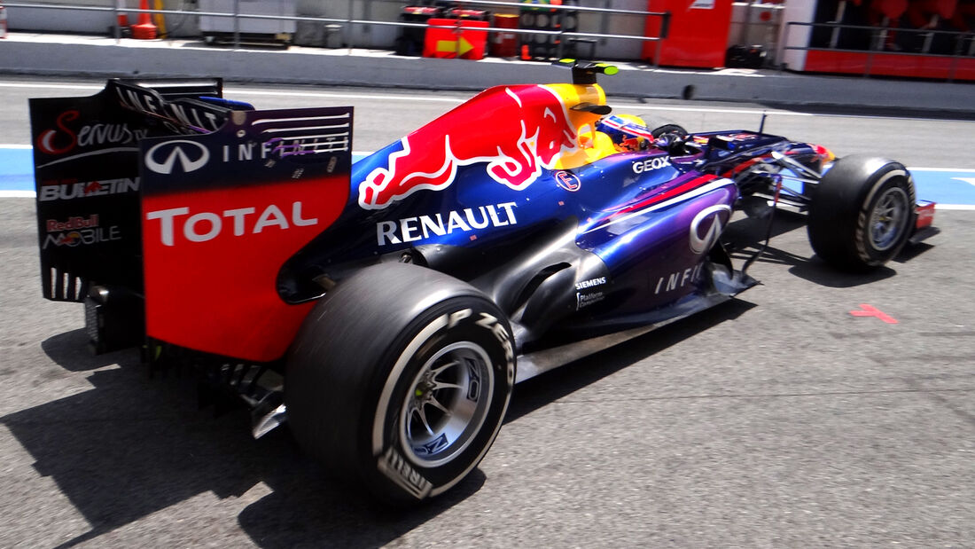 Mark Webber GP Spanien 2013