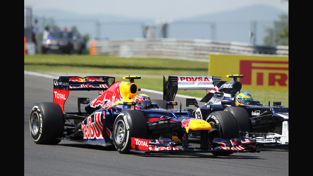 Mark Webber GP Ungarn 2012