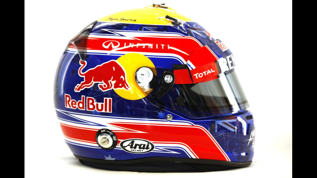 Mark Webber Helm 2012