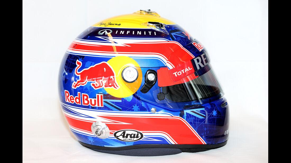 Mark Webber Helm 2013