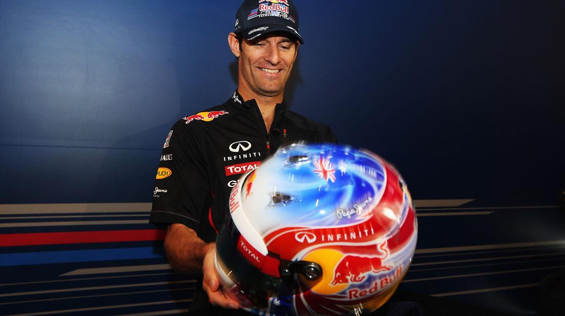 Mark Webber Helm Singapur 2012