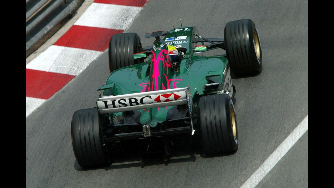 Mark Webber - Jaguar - GP Monaco - 2003