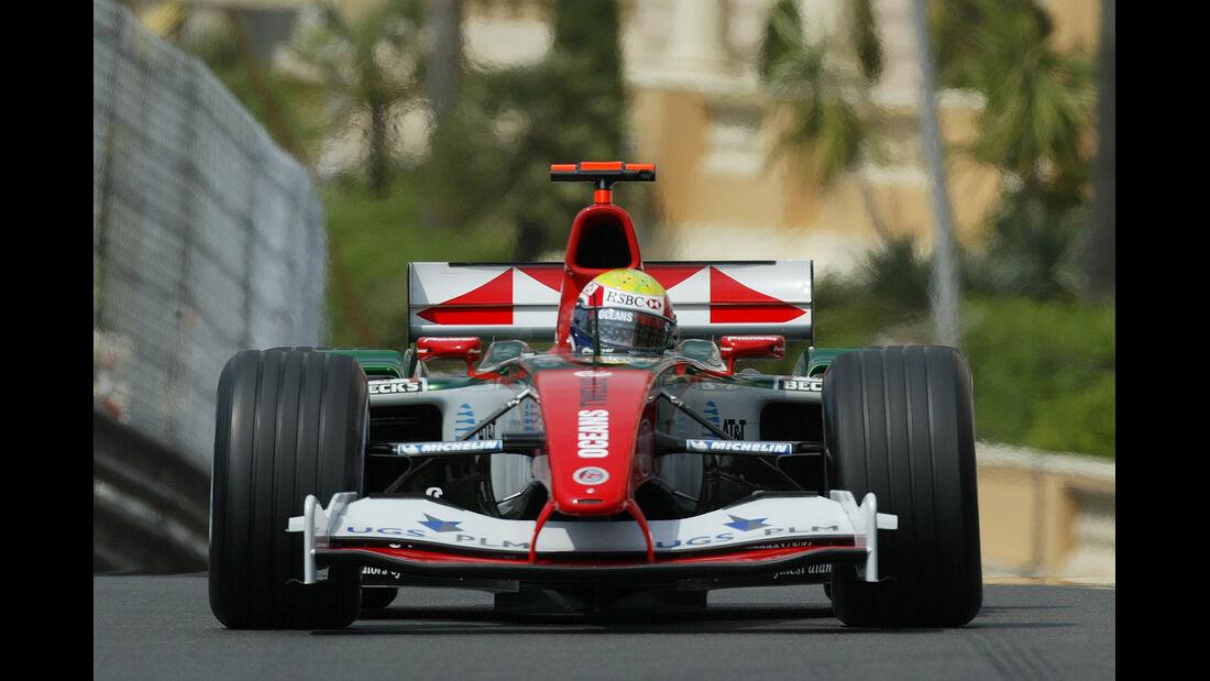 Mark Webber - Jaguar - Monaco - 2004