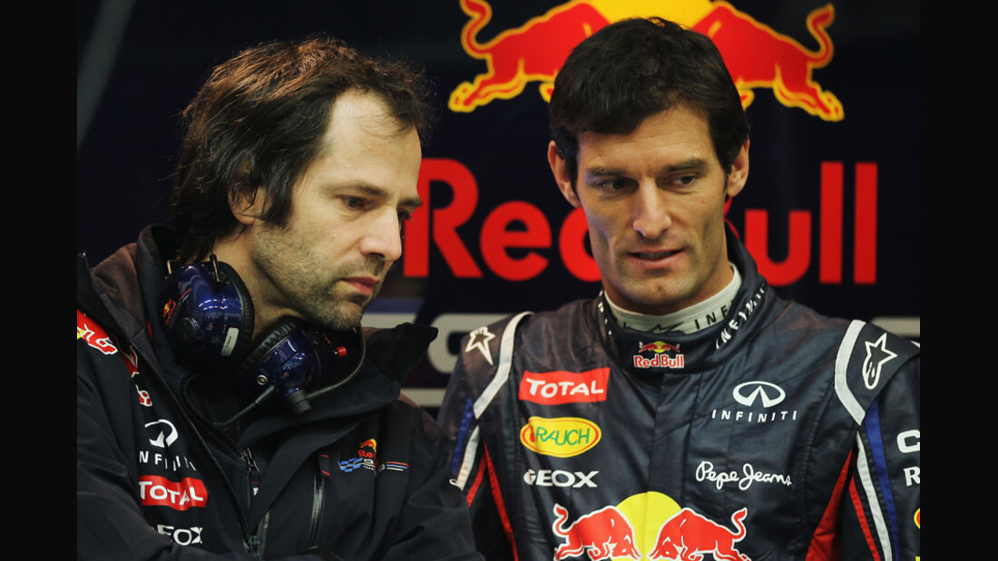 Mark Webber Jerez Test 2012