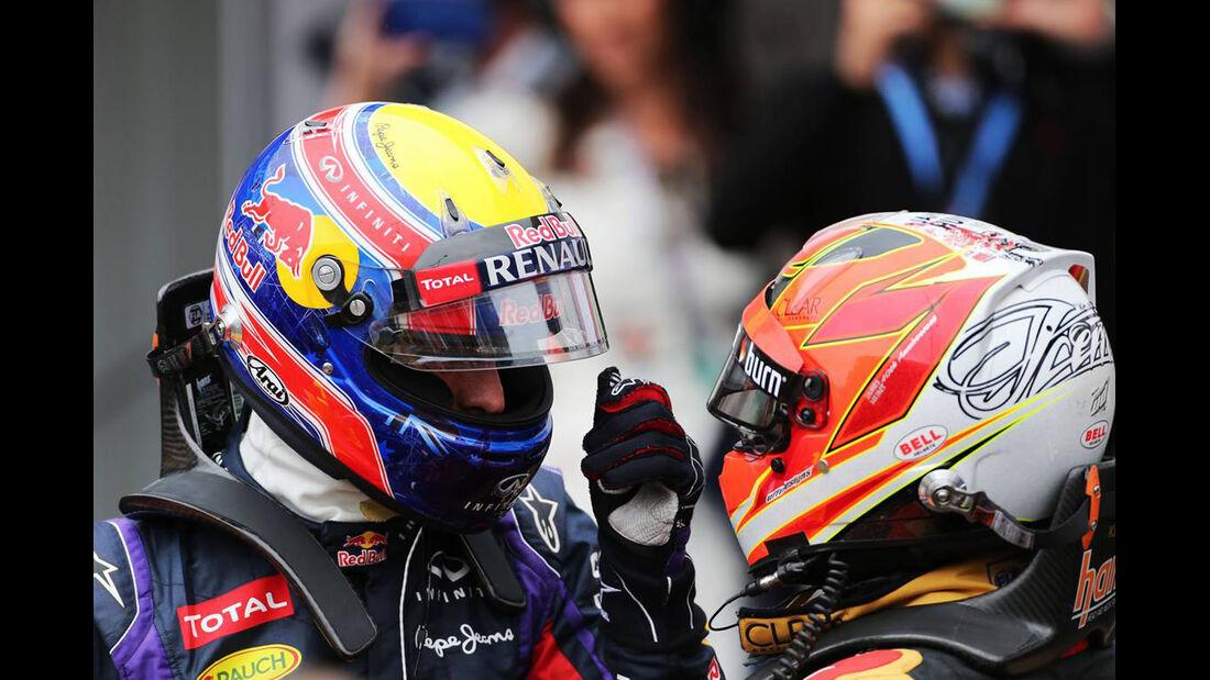 Mark Webber - Kimi Räikkönen - Formel 1 - GP Monaco - 25. Mai 2013