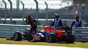Mark Webber Lichtmaschine GP USA 2012