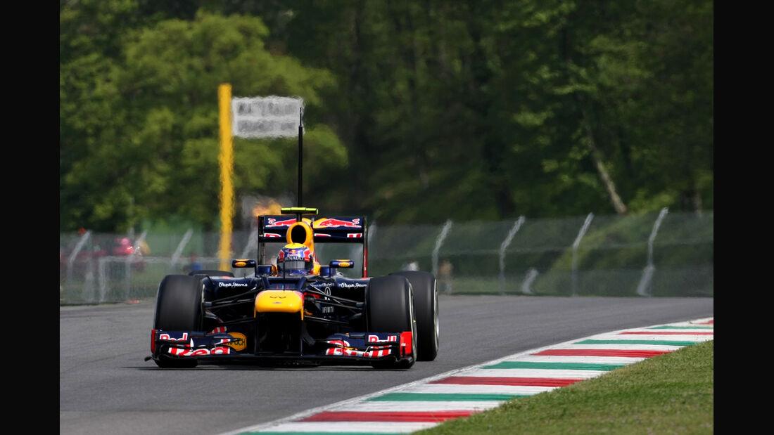 Mark Webber Mugello Test 2012