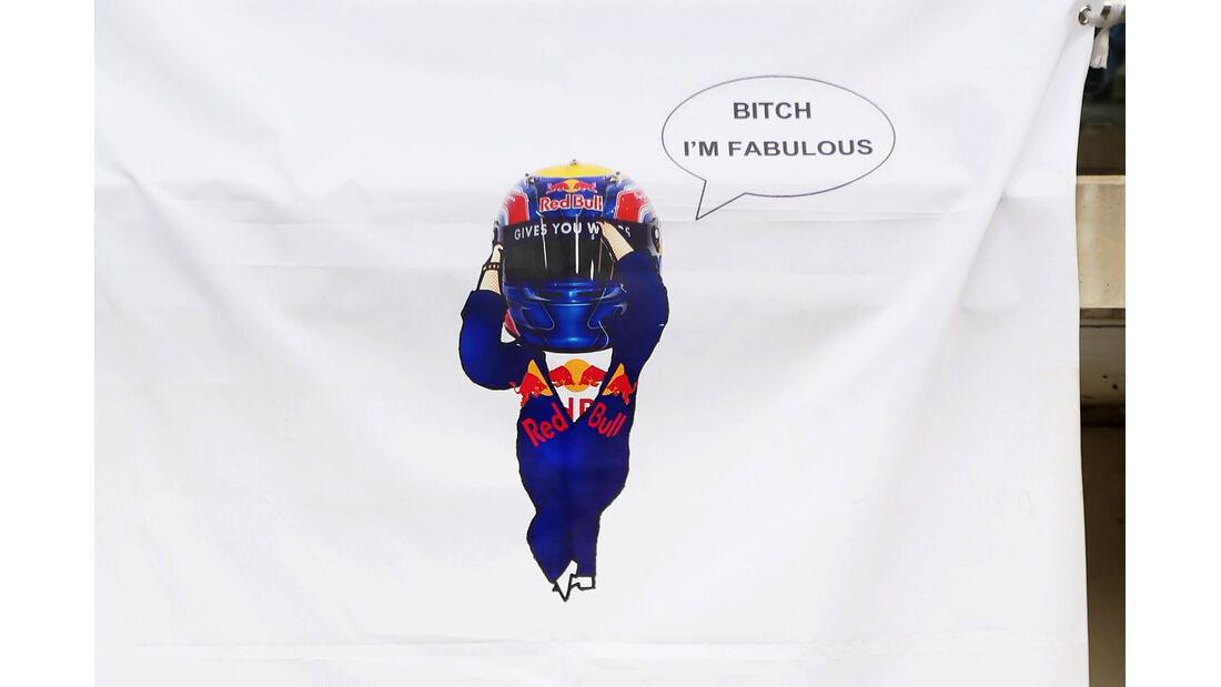 Mark Webber Plakat - Formel 1 - GP Korea - 13. Oktober 2012