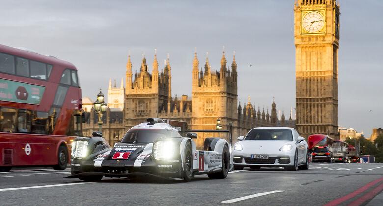Porsche Showrun im 919 Hybrid