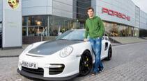 Mark Webber Porsche GT2 RS