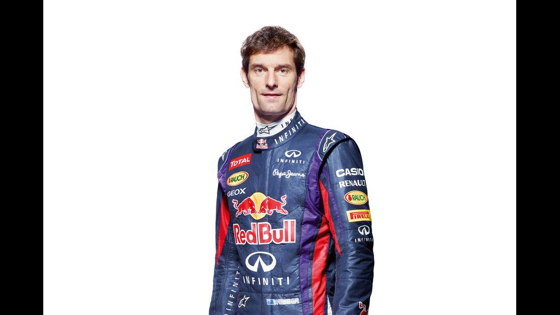 Mark Webber Porträt 2013