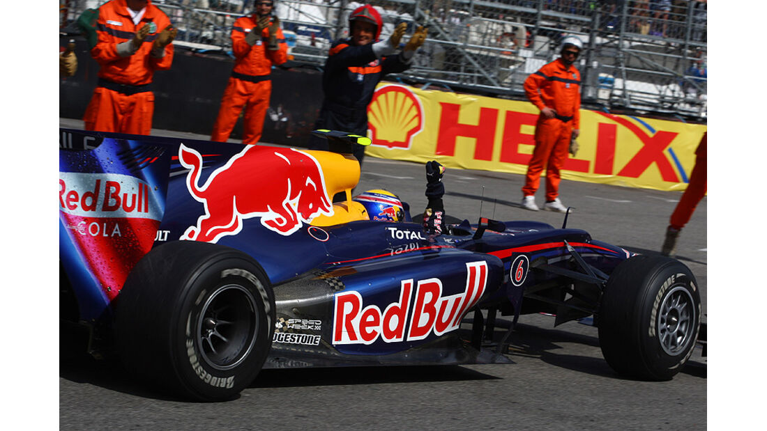 Mark Webber, Red Bull
