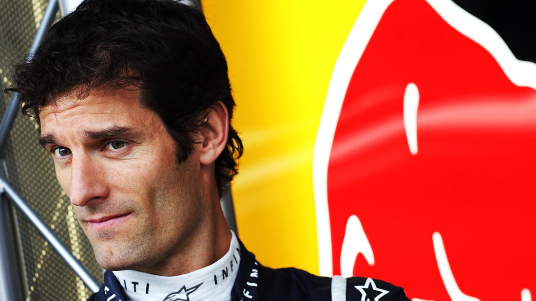 Mark Webber Red Bull 2012